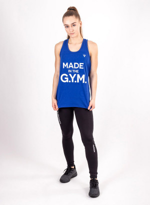 """Women's """"MADE in the G.Y.M."""" Tank"""